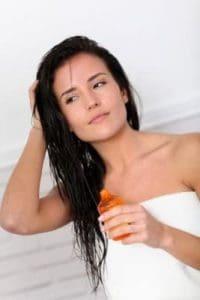 Traubenkernöl für die Haare